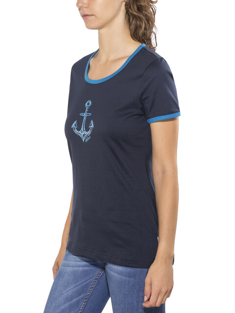 Elkline Neue Ufer T-Shirt Women blueshadow